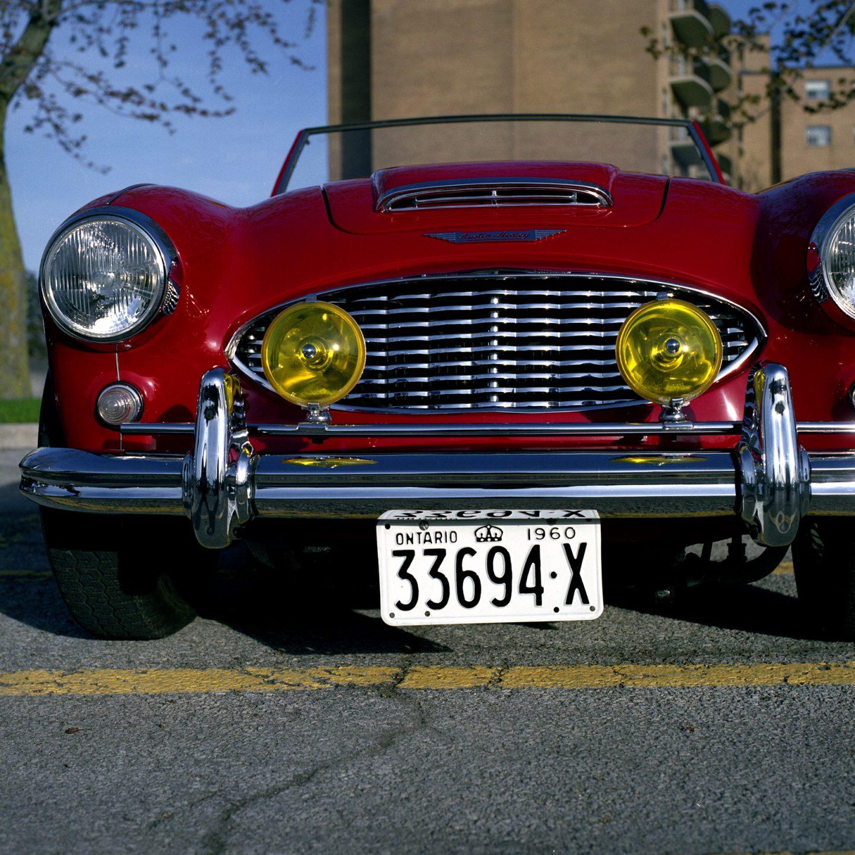 Classic Cars – Hasselblad 500CM FujiColor Pro 160S film