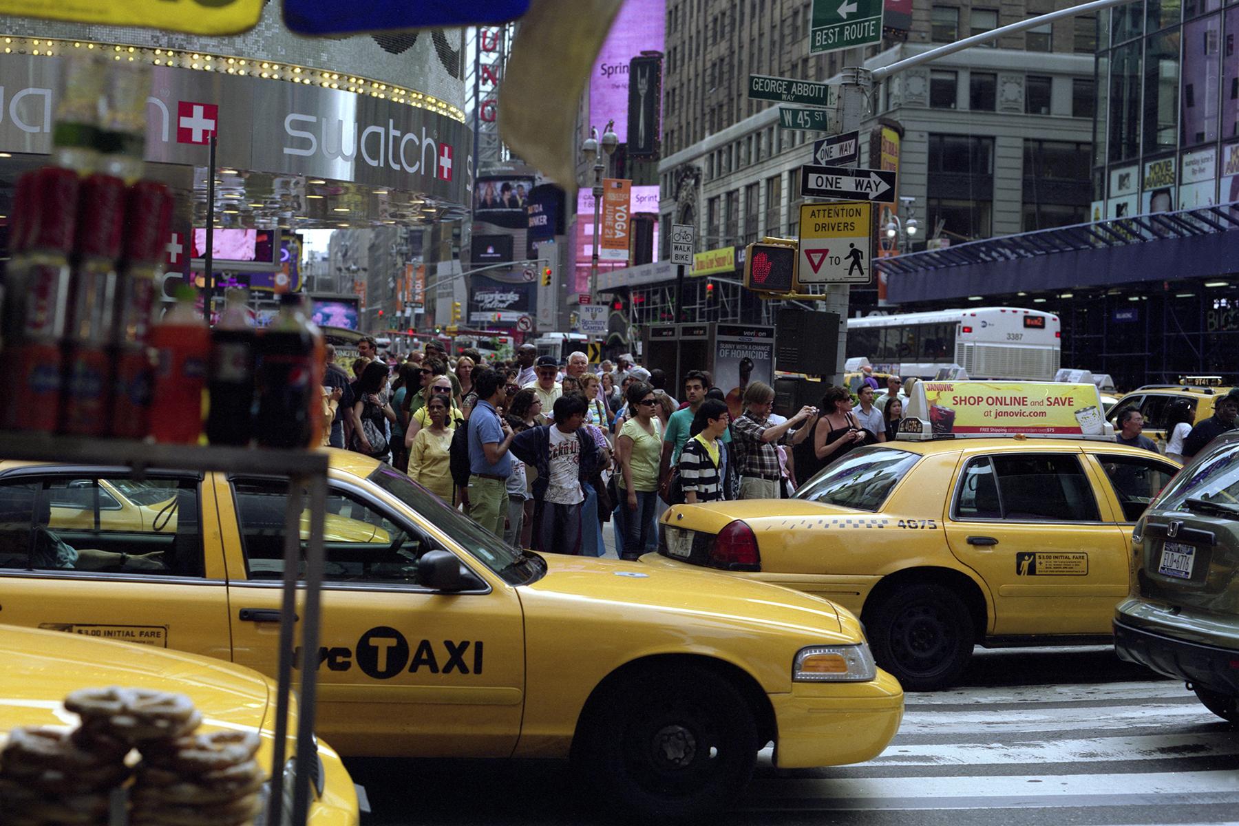 New York City Pentax 67 FujiColor Pro 160S