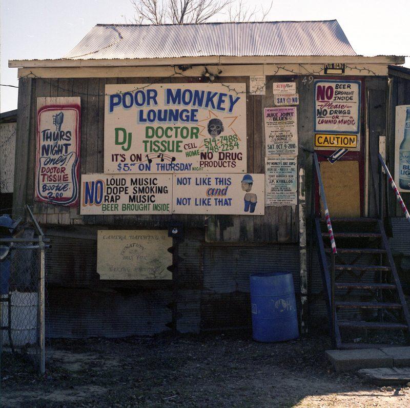 Delta Blues Po Monkeys Lounge Hasselblad 500cm medium format film