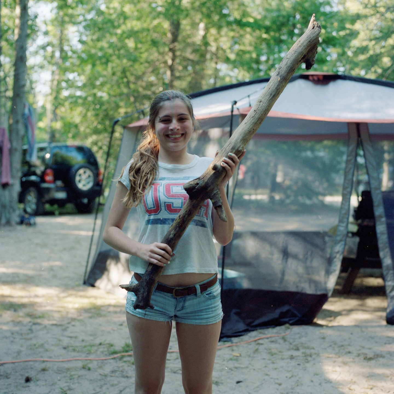 Fiddlehead Camping Hasselblad500cm Medium Format Camera