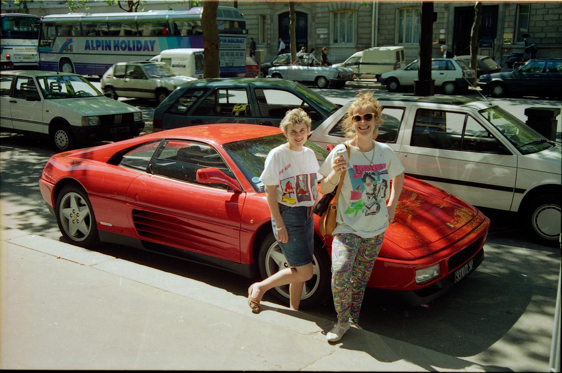 Found Negatives Nikon fe Paris France 1989