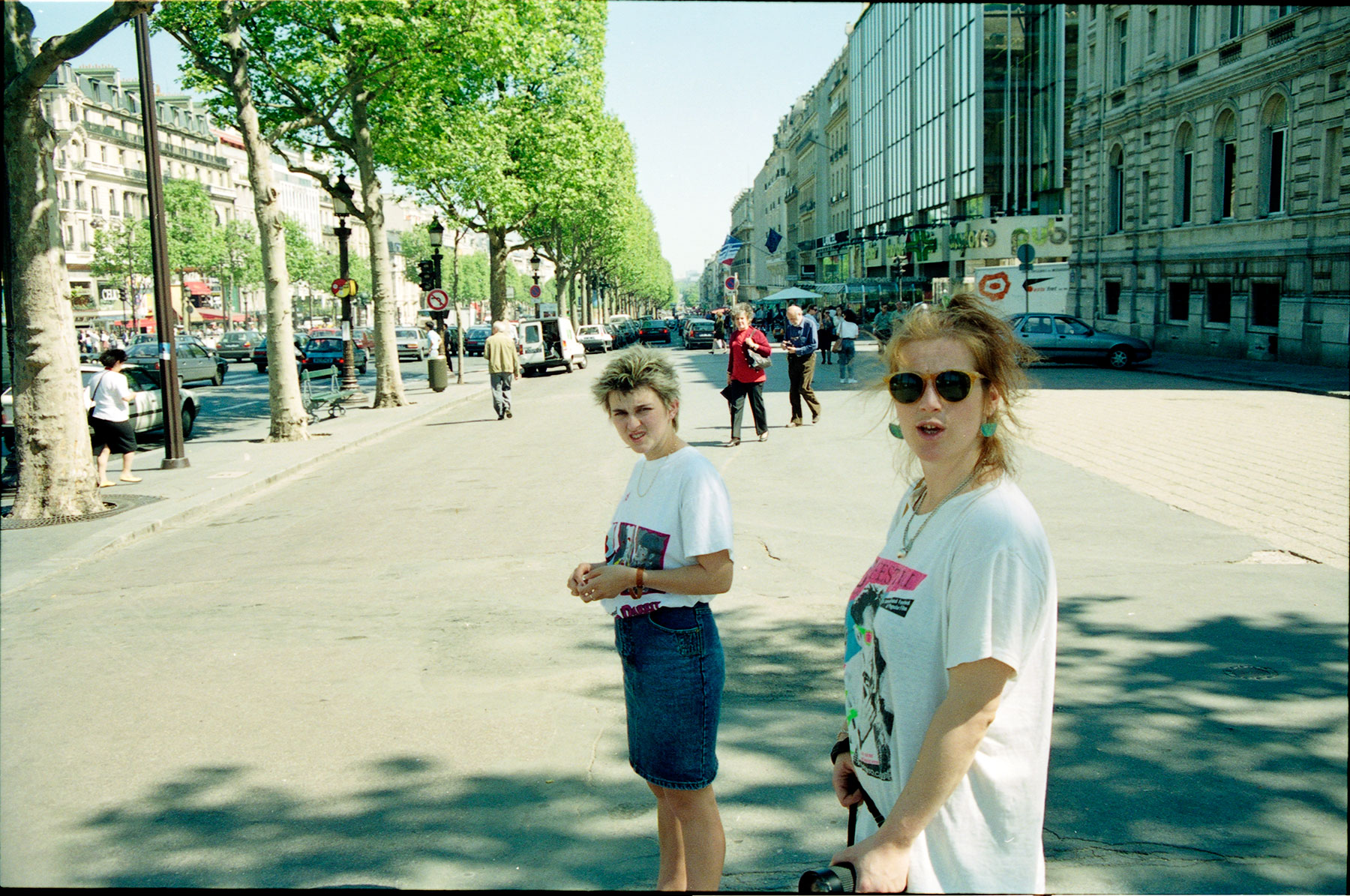 Found Negatives Nikon fe Paris France 1989