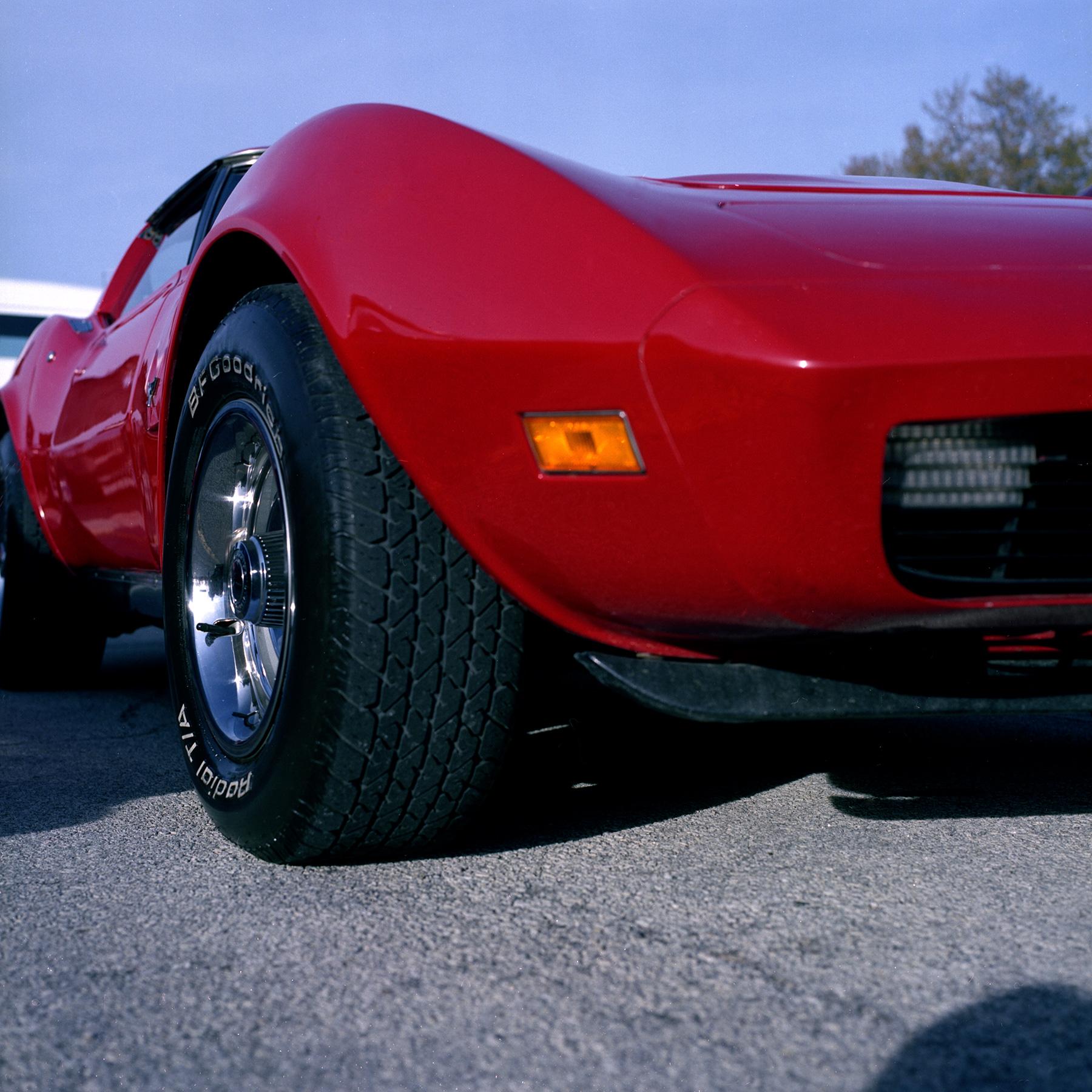 Classic Car Hasselblad 500cm FujiColor 160S 120 film