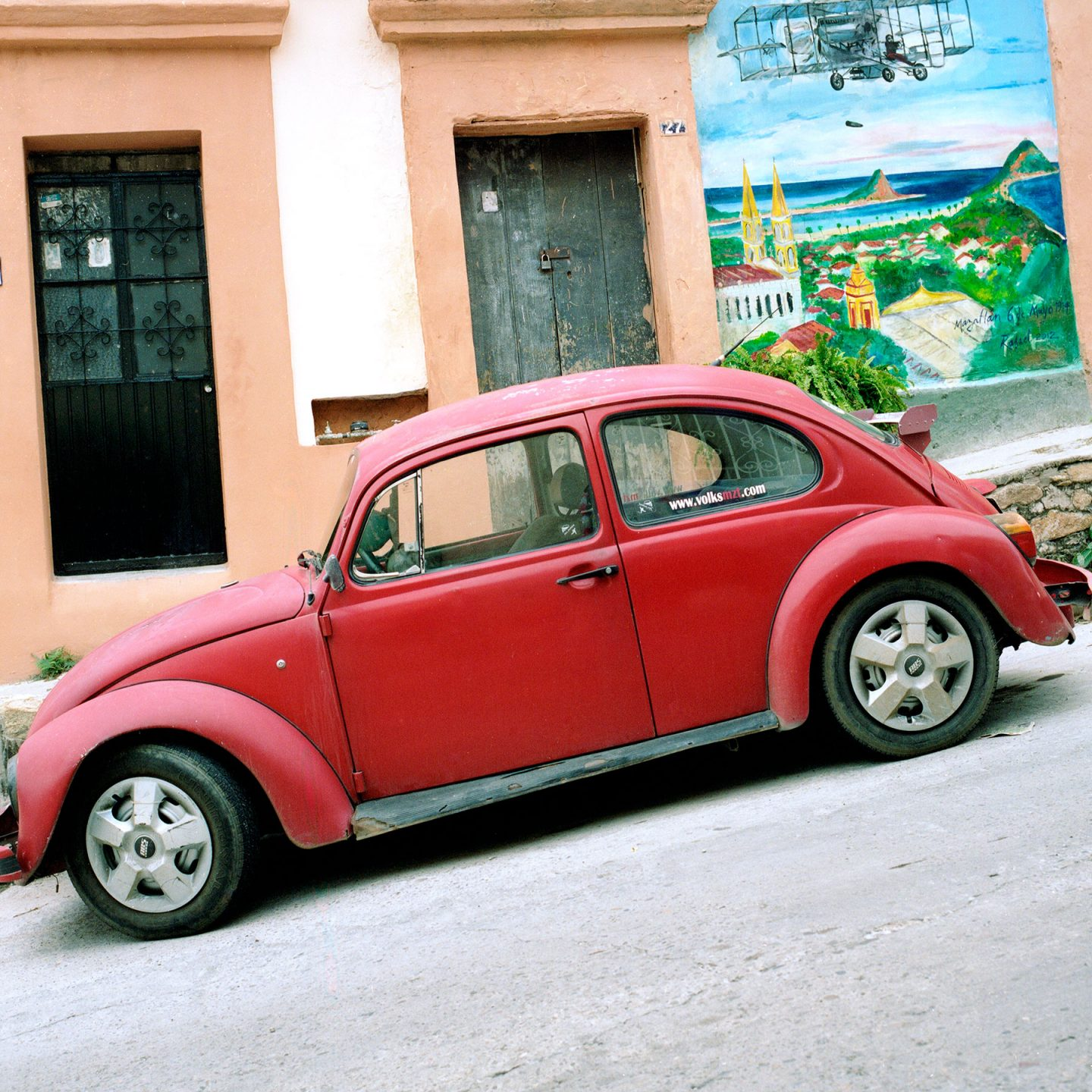 Cars of Mazatlan Mexico – Hasselblad 500cm