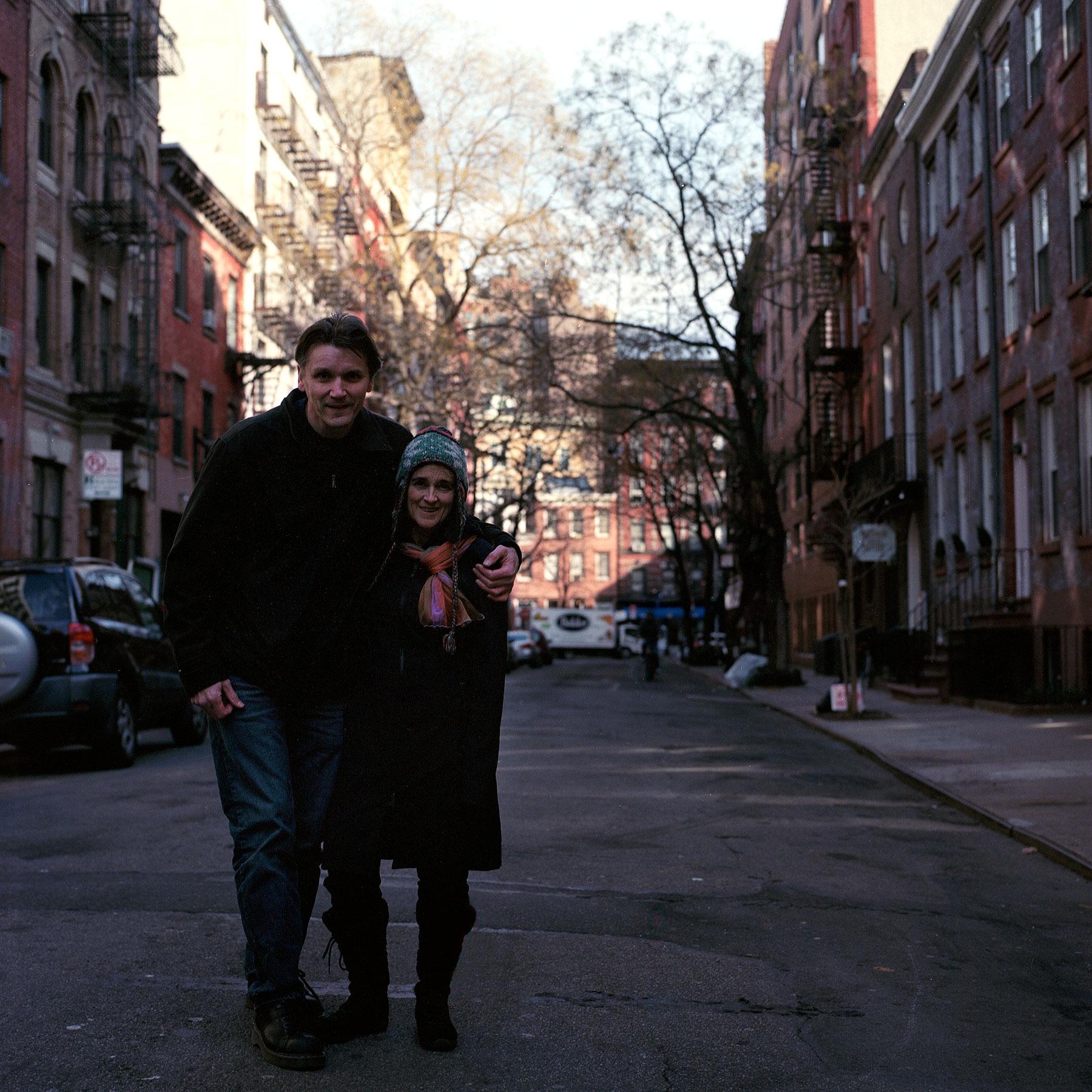 New York City Hasselblad500cm Kodak Portra 160nc film