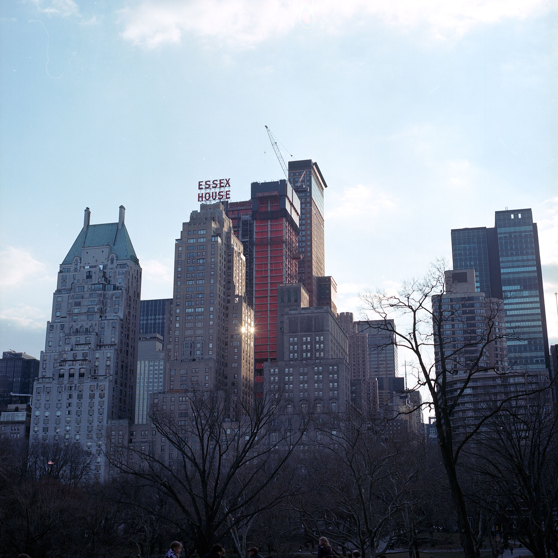 New York City Hasselblad500cm Kodak Portra 160nc film