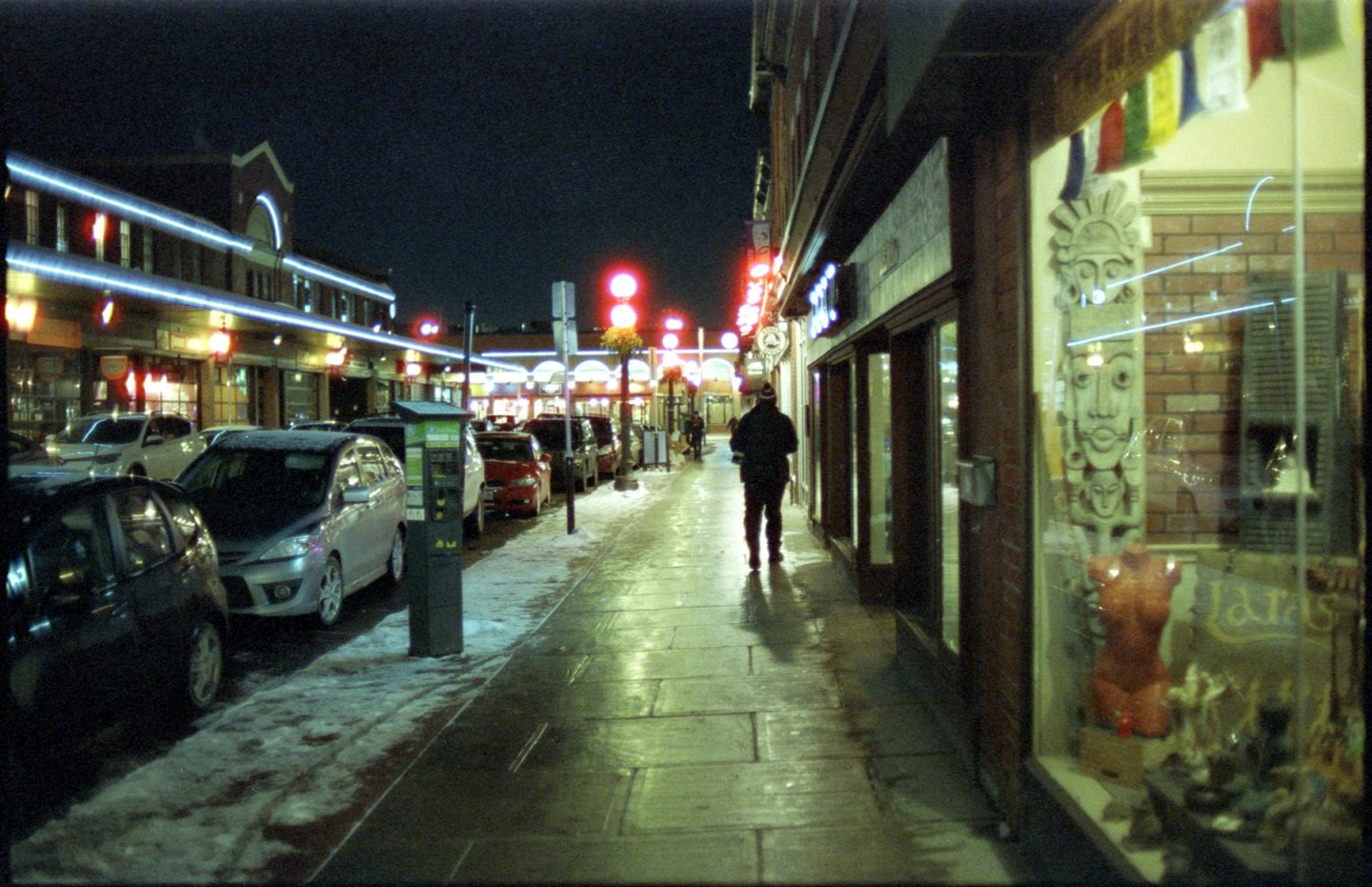 CineStill ISO 800 35mm Nikon F4 Ottawa A Medium View