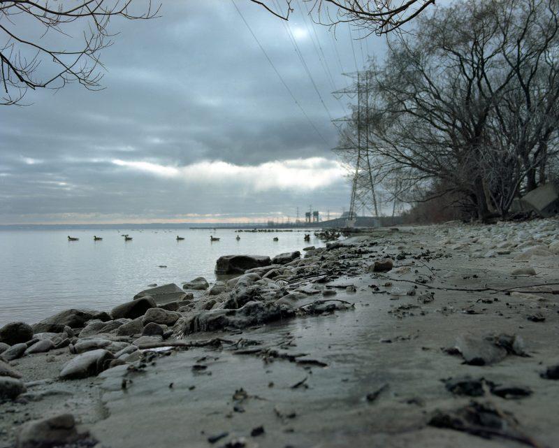 Lake ontario Kodak Portra 160 film Mamiya rz67