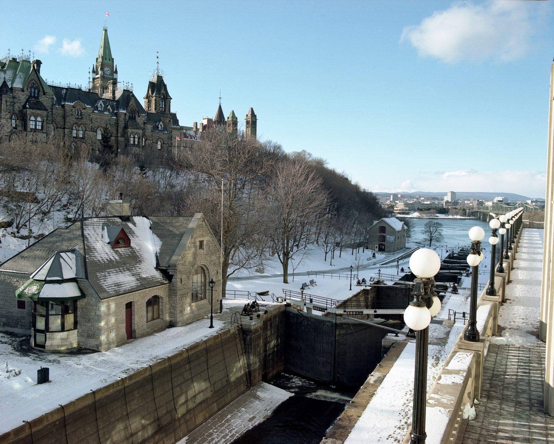 Ottawa at Christmas Mamiya RZ67 Kodak Portra 160