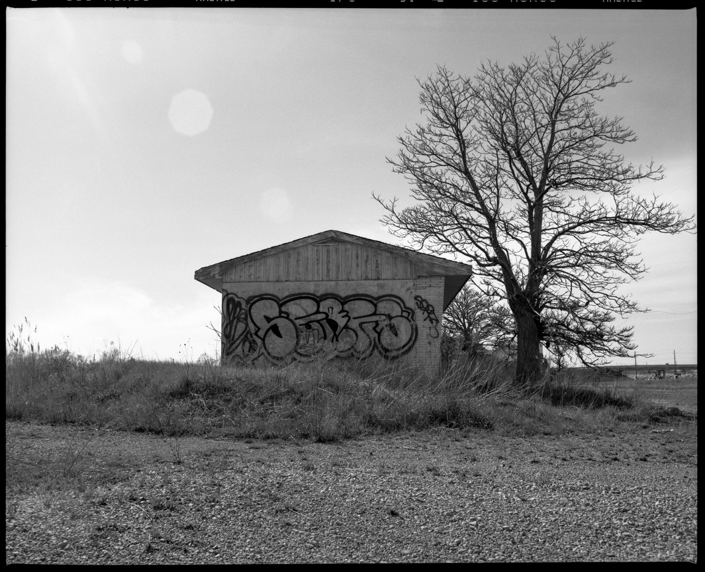 Mamiya RZ67 Fuji Neopan Acros 100 film – Abandoned Garage