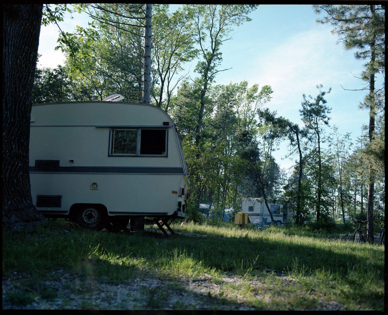 Craigleith Camping – Mamiya RZ67 Kodak Portra 160VC Expired film