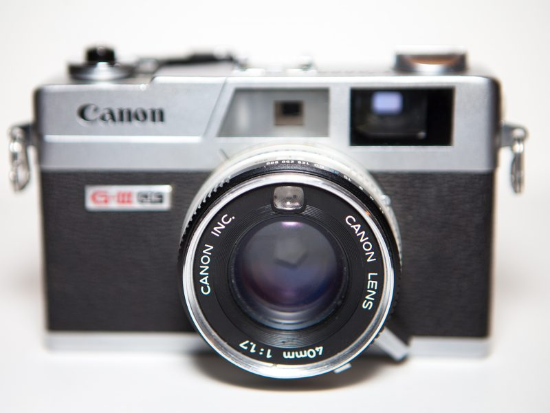 Canon Canonet GIII QL17 Rangefinder 35mm camera review