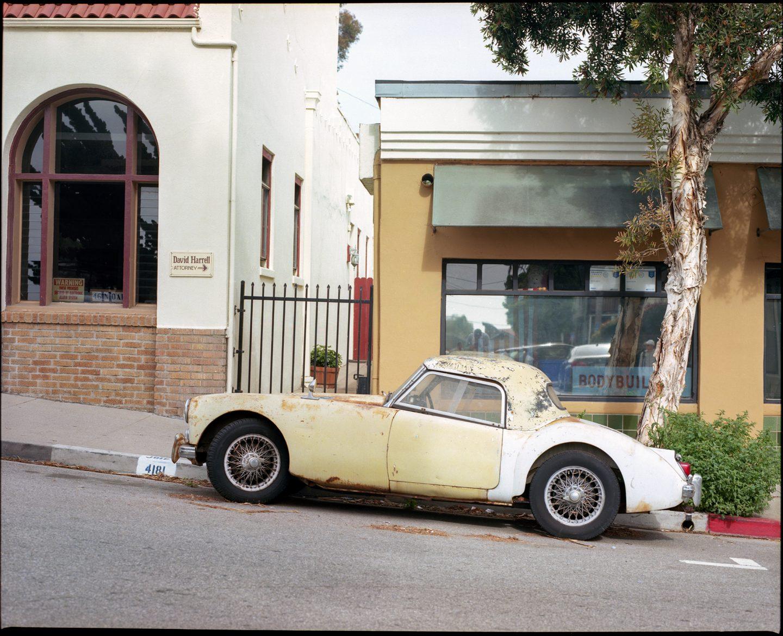 Ventura CA Mamiya RZ67 Kodak Ektar 100 film