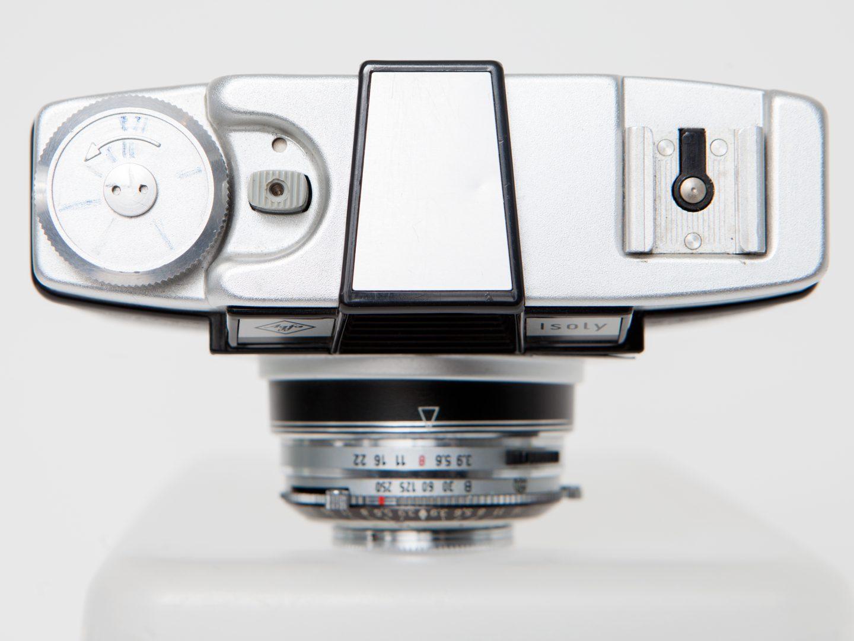 Agfa Isoly III medium format camera