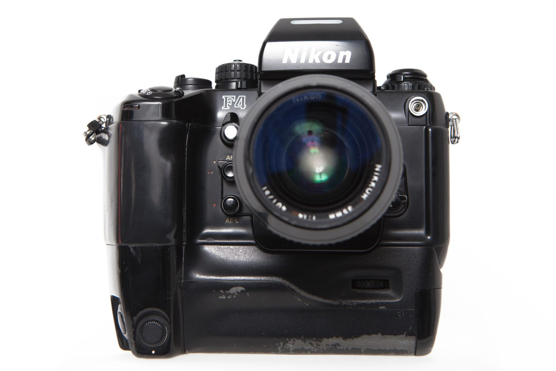 Nikon F4 SLR 35mm film camera