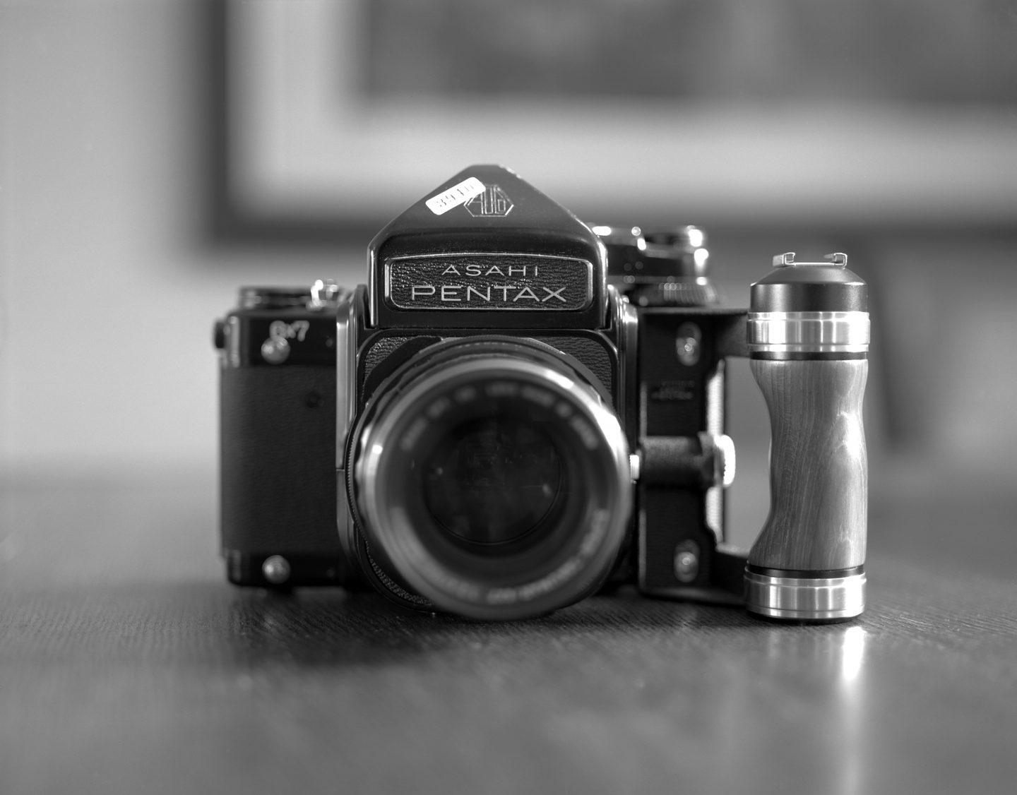 365-37 The Pentax 6×7 film camera