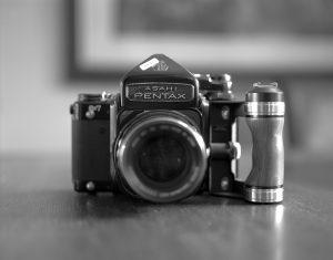Pentax 6x7 medium format film camera