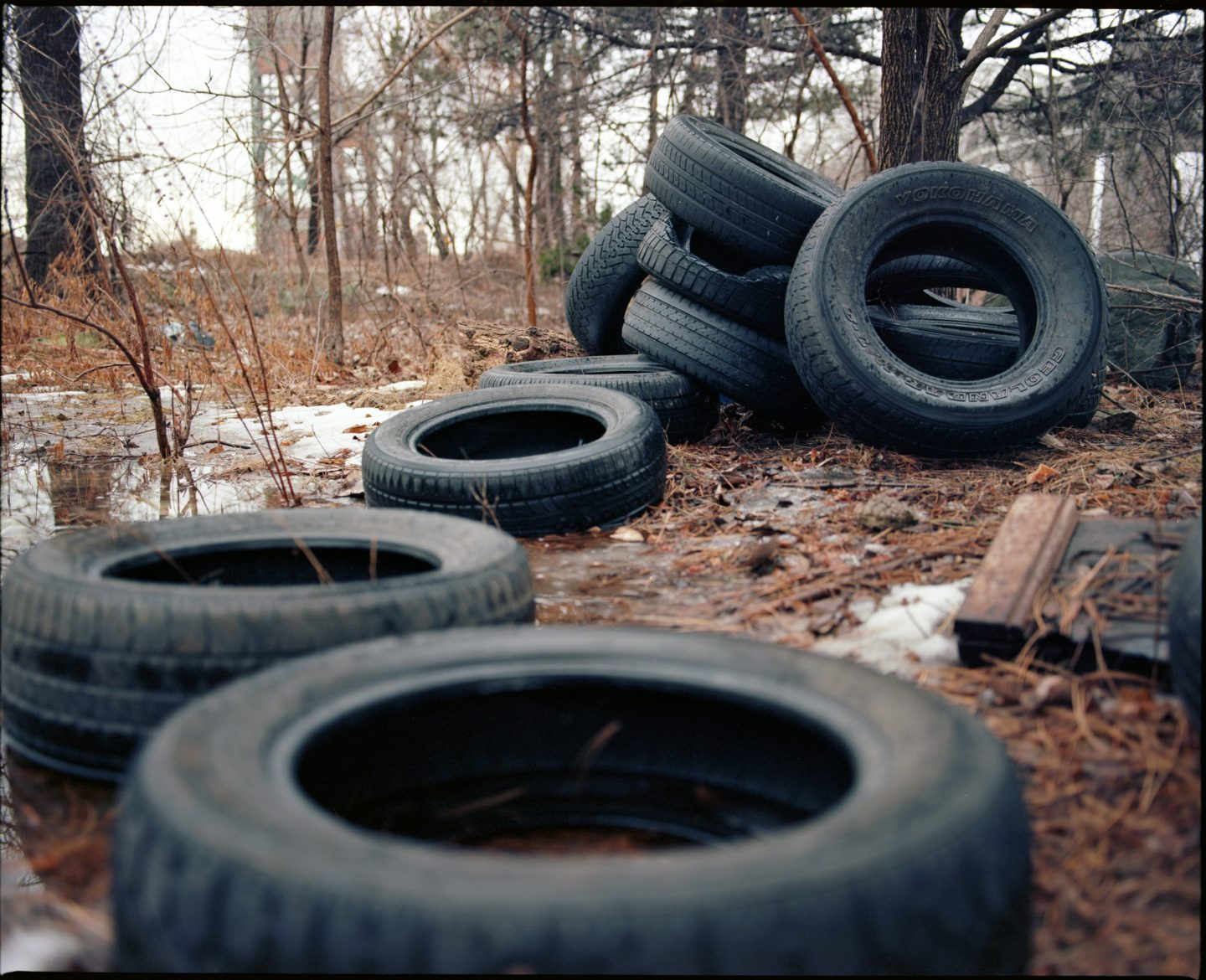 365-58 Tires, Kodak Ektar 100 color film