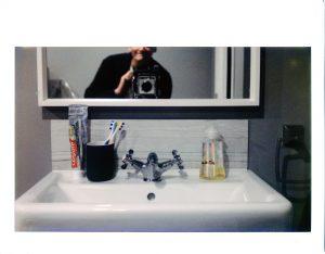 Instax Wide film, Crown Graphic 4x5 camera