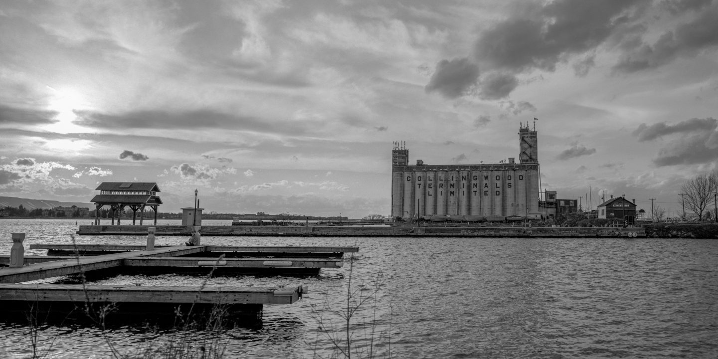 Collingwood Grain Terminals 4×5 film